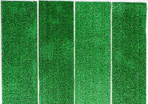 Dynamic24 8X Outdoor Stufenmatten Antirutsch Matten Rasen Kunstrasen Treppenmatten Garten außen