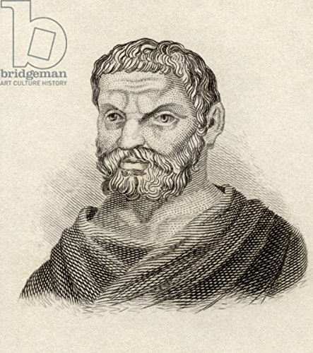 alu-dibond-bild-80-x-90-cm-thales-of-miletus-from-crabbes-historical-dictionary-published-in-1825-li