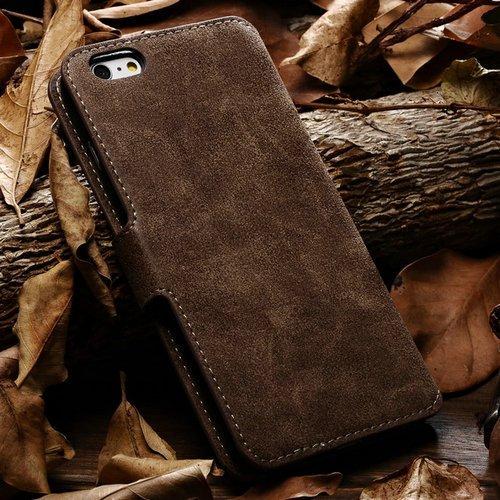 aridox (TM) Rétro Style Étui en cuir pour iPhone 611,9cm Sac pour téléphone portable iPhone de luxe avec fente pour carte et Bill site neuf
