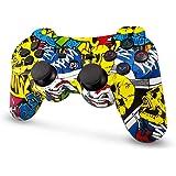 PS3 Controller Wireless, Gamepad Bluetooth PS3 Six-Axis Doppia Vibrazione, Bluetooth Senza Fili Controller di Gioco per PlayS