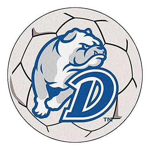 Fanmats 4055 Drake University Bulldogs Nylon Soccer Ball Rug