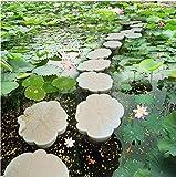 Xcmb Benutzerdefinierte 3D Malerei Boden Tapete Lotus Teich Lotus Pier Bodenbelag 3D Boden Malerei Wallpaper-200Cmx140Cm