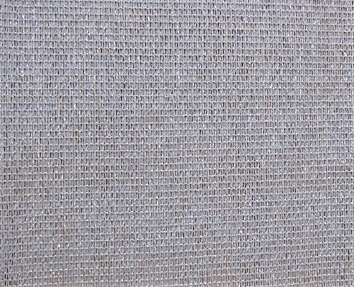 AGROFLOR filet brise vue pour le balcon ou la terrasse, avec bords renforcés etœillets toutes les 50 cm, 100% résistant aux UV, couleur: gris, Taille: 0,75 x 25 m