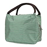 Best Simple Lunch Boxes - BONSYL Lunch Bag, Insulated Canvas Bento Lunch Bags Review