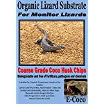 E-Coco Products UK MONITOR LIZARD SUBSTRATE, BEDDING FOR MONITOR LIZARDS ENCLOSURE, VIVARIUM (5 LITRES) 5