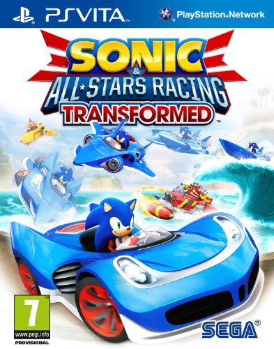 Sonic & All Star Racing 2 PSV UK multi Transformed Teil 2
