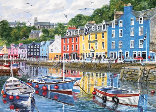Gibsons Tobermory Jigsaw Puzzle ...