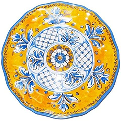 Le Cadeaux Benidorm 11 Melamine Dinner Plate - set of