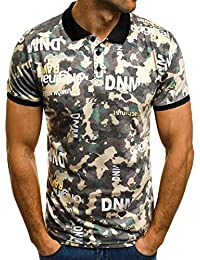 2e3034f74f6f OZONEE Herren Poloshirt Polohemd Polo T-Shirt Kurzarm Figurbetont ZAZZONI  1055