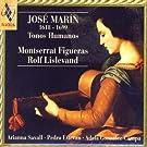 José Marín, 1628-1699: Tonos Humanos