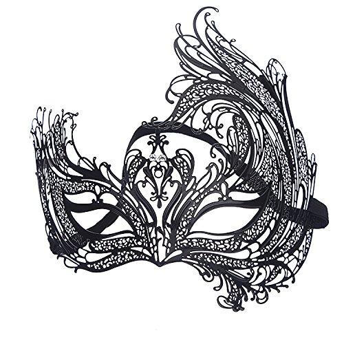 Die Phoenix Halloween Kostüm - WDERYL Halloween-Maske, Venedig Eisen Phoenix Durchbrochene