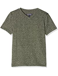 Tommy Hilfiger Boy's Ame Basic Jaspe VN Tee S/S T-Shirt