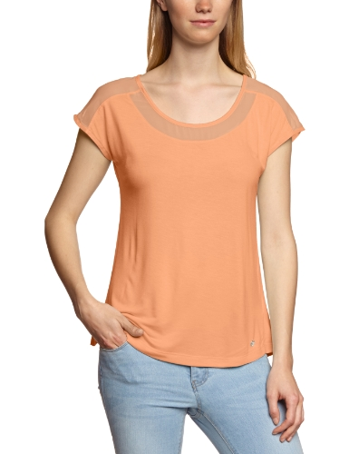 MEXX Damen T-Shirt N1DST029 Orange (839)