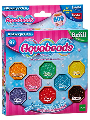 AQUA BEADS Aquabeads 79378 - Niños Craft Kits - Perlas Glitter