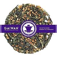 "N° 1123: Thé vert""Genmaicha Tokiwa (thé vert avec riz soufflé)"" - feuilles de thé - 100 g - GAIWAN GERMANY - thé vert du Japon, riz soufflé"