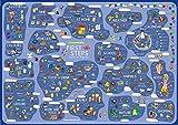 mindmemo Lernposter - First Steps - Englisch für Einsteiger - Vokabeln lernen mit Bildern - geniale Lernhilfe - DinA2 PremiumEdition