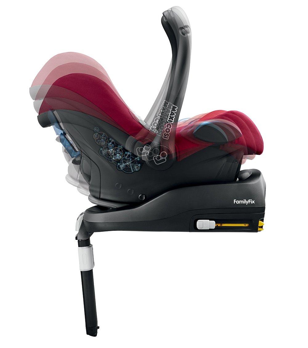Maxi Cosi Cabriofix Car Seat Group 0+ Maxi Cosi Robin Red Maxi-Cosi Top brand quality from Maxi-Cosi. 7