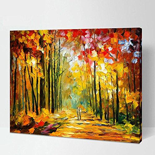1-piece-avec-encadree-illustrations-peintures-par-leonid-afremov-des-impressions-sur-toile-art-mural