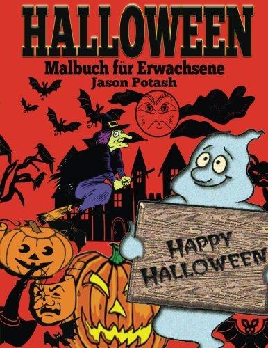 Halloween Malbuch Fur Erwachsene (Die Beruhigungs Erwachsene Malvorlagen)