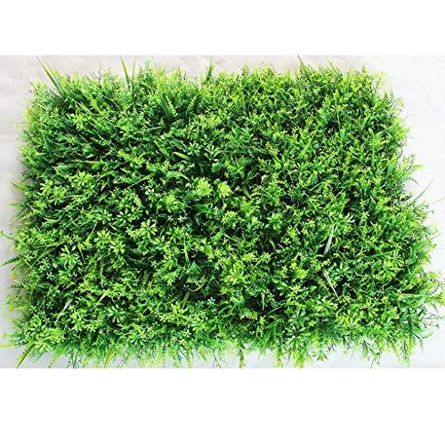 Yang baby Erba Artificiale Tappeto, Falso Tappeto Erboso for Indoor/Outdoor Decor, Faux Fiore Decorazione Vegetale (Color : 3)