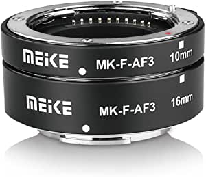 Meke Mk F Af3 Auto Fucus Macro Extension Tube For Compatible With All Fujifilm Mirrorless Camera