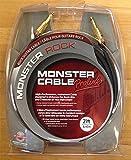 Monster Cable EMCROCK2-21 Cavo per Strumenti Musicali, 6.4 m, Nero