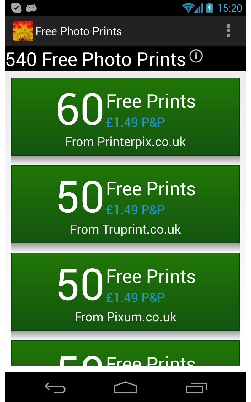 Free Photo Prints: Amazon.co.uk: Appstore for Android