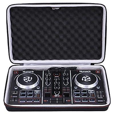 LTGEM EVA Case For Numark Party Mix Two-Channel Starter DJ Controller/Pioneer DDJ-SB2 portable DJ controller