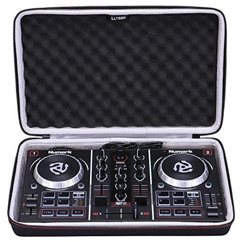 LTGEM EVA Case für Numark Party Mix Zweikanal-Starter-DJ-Controller - Tragetasche mit Schutzhülle