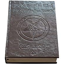 Die Satanische Bibel / Die Satanischen Rituale Ltd. Leder Edition: Leder, schwarze Seiten