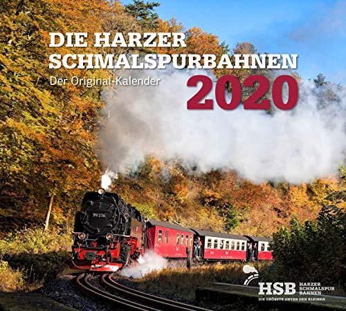 Die Harzer Schmalspurbahnen 2020: Kalender 2020