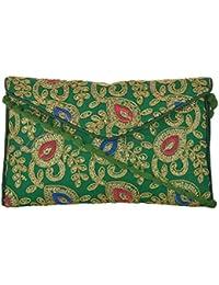 Utsav Women's Multicolour Sling Bag (Utsav 110)