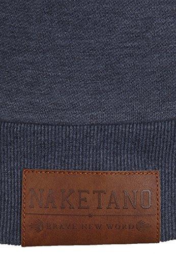 Naketano Male Sweatshirt MC satzbau Indigo Blue Melange