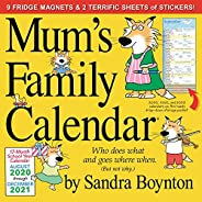 2021 Mum's Family Wall Calendar (UK Edit
