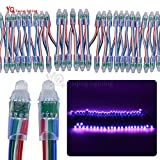 12V 12MM RGB LED Pixel Digital Diffused Einzeln String Licht LED Modul IP68 Wasserdichte DIY 50 teile/satz