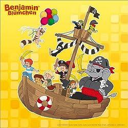 "Cuadro ""Benjamin the Elephant and his pirates"" 120 x 120 cm."
