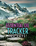 Best doTERRA Health Essential Oils - Essential Oil Tracker: 180 Days!: 8 x 10 Review
