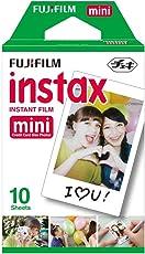 Fujifilm Instax Mini Instant Film, Weiß, Einzelpackung