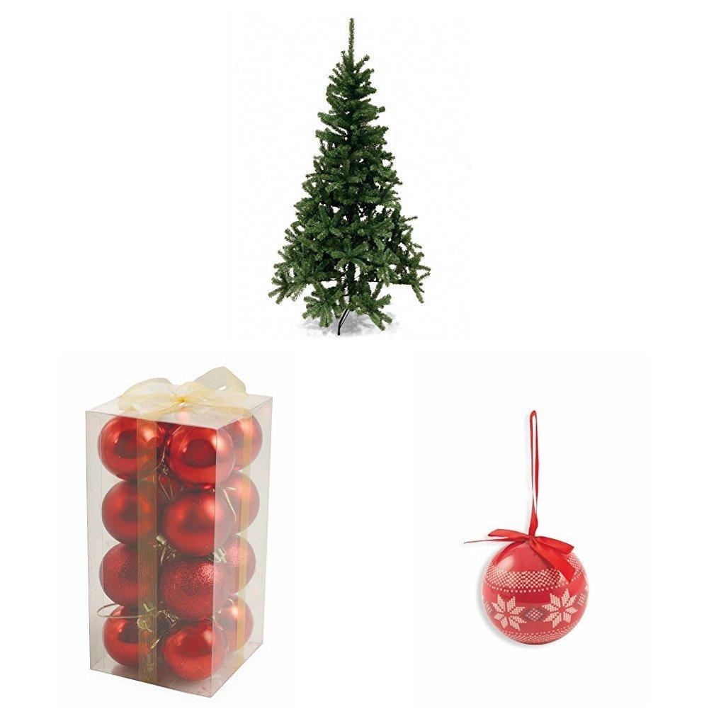 Albero di Natale altezza plastica e metallo Image 3