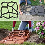 Stampo da giardino fai da te, in plastica, per pavimentazione manuale, cortile, pietra, cemento, mattoni