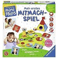 Ravensburger-04498-Mein-erstes-Mitmach-Spiel Ravensburger ministeps 04498 – Mein erstes Mitmach-Spiel -