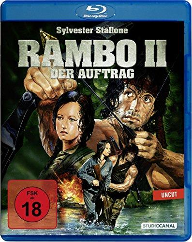Bild von Rambo 2 - Der Auftrag (Uncut) [Blu-ray]