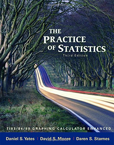 The Practice of Statistics: Ti-83/84/89 Graphing Calculator Enhanced: Ti-83/89 Graphing Calculator Enhanced