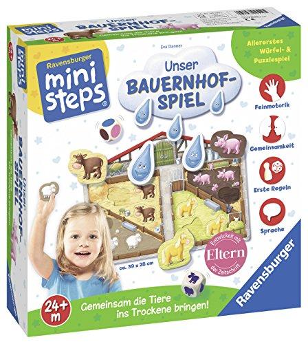 Ravensburger-04510-Ministeps-Unser-Bauernhof-Spiel