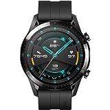 """Huawei Watch GT2 Sport - Smartwatch con Caja de 46 Mm (Hasta 2 Semanas de Batería, Pantalla Táctil Amoled de 1.39"""", GPS, 15 M"""
