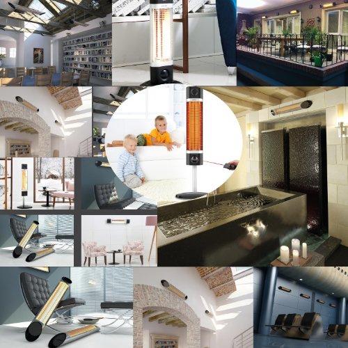 Infrarotstrahler Veito CH2500 TW weiß – 2500 Watt - 2