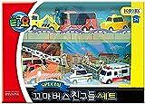 Tayo The Little Bus Tayo Friends Special 6Pcs Mini Car Set : Juguete...