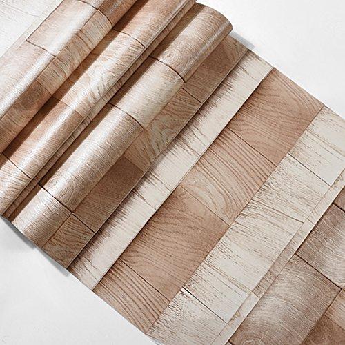 JSLCR Retro-Holz Freizeit Thema Dekoration Wallpaper Hintergrundbilder,96-8051