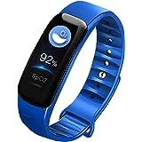 Fitness Trackers IP67 Waterdichte Smart Bluetooth Armband met Hartslag Bloeddrukmeter en tellen Slaap Alarm-Smartwatch Polsba