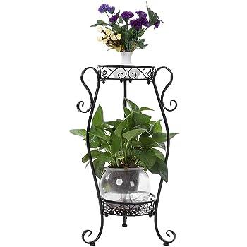 51926b41040 2pcs Porte Support Pot de Fleurs Plantes Jardinière Stand Etagère de ...